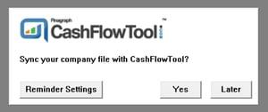 Sync with CashFlowToo